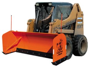 Scoop Dogg Snow Pusher - Skid-Steer Model